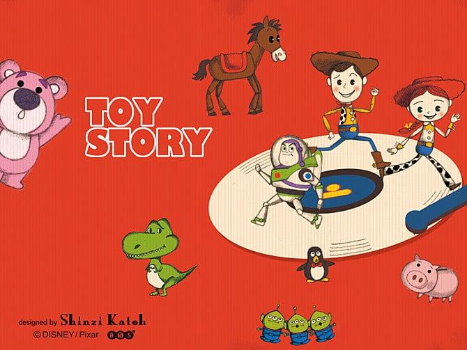 Charactersトイ ストーリー雑貨デザイナーshinzi Katohの公式